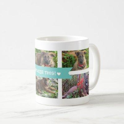 Pet Collage Photo Mug
