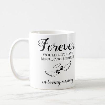 Pet Memorial Personalized Photo In Loving Memory Coffee Mug