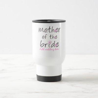 Petal Pink Mother of the Bride Gift Travel Mug
