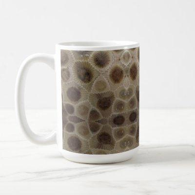 Petoskey stones coffee mug