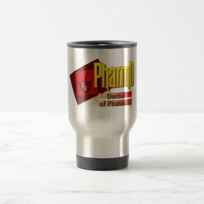 PharmD Doctor of Pharmacy LOGO Travel Mug