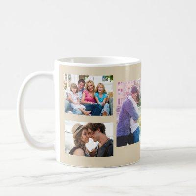 Photo Collage Make Your Own Coffee Mug