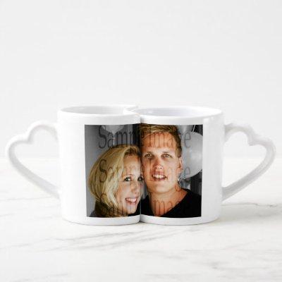 Photo couples family PERSONALIZE Coffee Mug Set