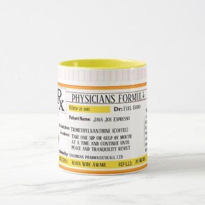 Physicians Formula Prescription RX Mug