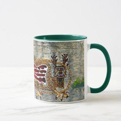 Piasa Bird Illinois Native American Legend Mug