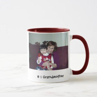 Picture 070, # 1 Grandmother Mug