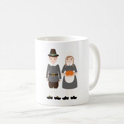 Pilgrims Coffee Mug