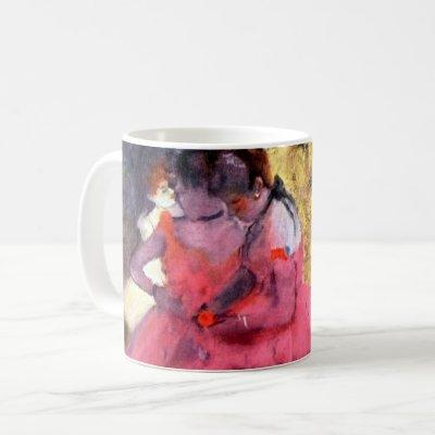 Pink Dancers, Edgar Degas Coffee Mug