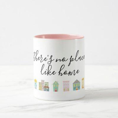 Pink New Homeowner Mug