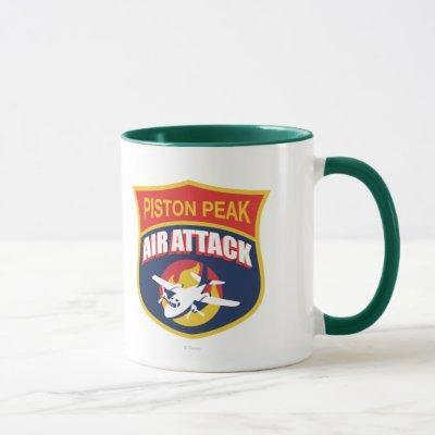 Piston Peak Air Attack Badge Mug