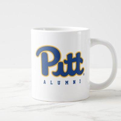 Pitt Alumni Giant Coffee Mug