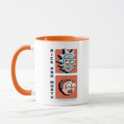 Pixelverse Rick and Morty Panel Graphic Mug