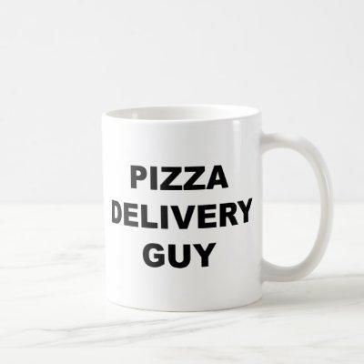 Pizza Delivery Guy Coffee Mug
