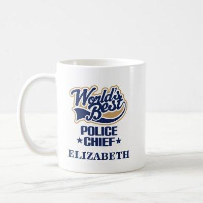 Police Chief Personalized Mug Gift