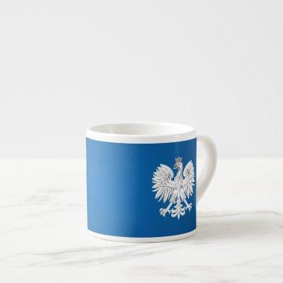 Polish eagle espresso cup