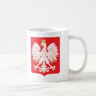 Polish Eagle Red Shield Coffee Mug