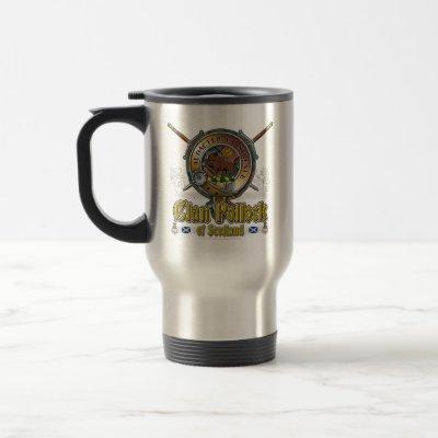 Pollock Clan Badge Travel Mug