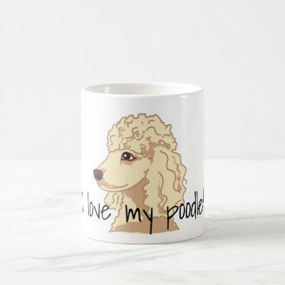 Poodle Dog Lover Pet Dogs Paws Coffee Mug