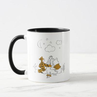 Pooh, Eeyore & Tigger | Looking up at the Sky Mug