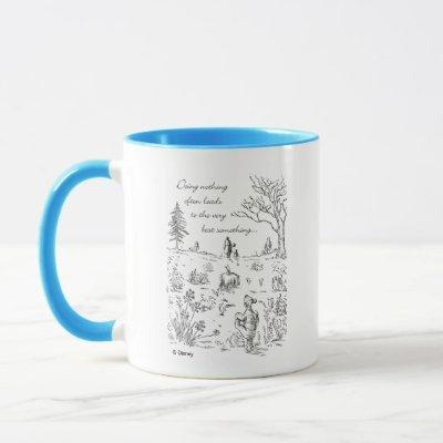 Pooh & Pals | The Very Best Something Quote Mug