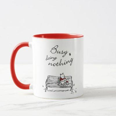 Pooh & Piglet | Busy Doing Nothing Mug