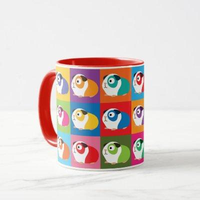 Pop Art Guinea Pigs Mug