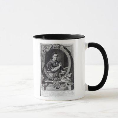 Pope Clement XIV, engraved by Domencio Cunego Mug