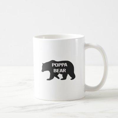 Poppa Bear - Show Dad You Care Coffee Mug