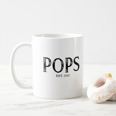 Pops Year Established Coffee Mug