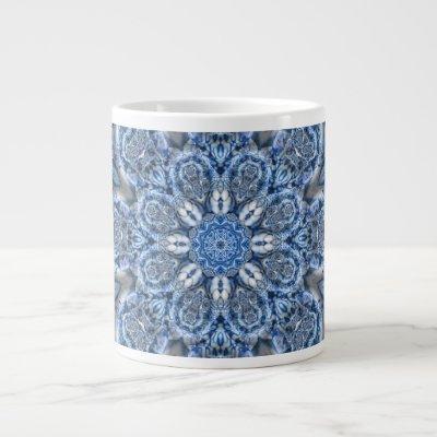 Porceline Fractal Giant Coffee Mug