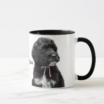 Portuguese Water Dog Puppy Mug