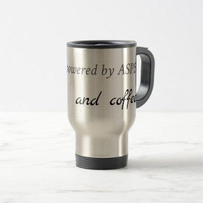Powers by ASPB and Coffee Travel Mug
