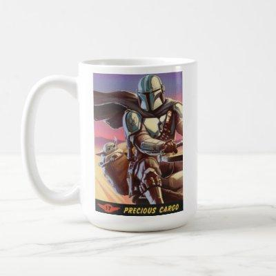 Precious Cargo Color Halftone Graphic Coffee Mug
