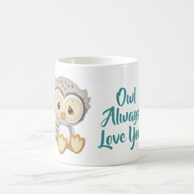 Precious Moments | Woodland Owl Always Love You Coffee Mug