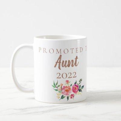 PREGNANCY ANNOUNCEMENT TO AUNT COFFEE MUG