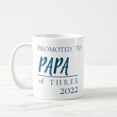 PREGNANCY ANNOUNCEMENT TO PAPA# OF CHILDREN COFFEE MUG