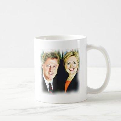 President Bill Clinton & President Hillary Clinton Coffee Mug