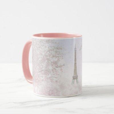 Pretty Paris In Pastels Mug