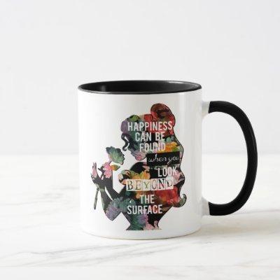 Princess | Belle Floral Silhouette Mug