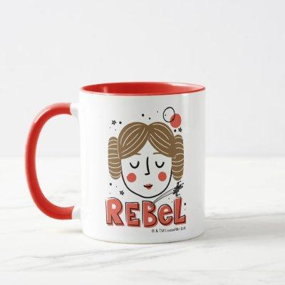 Princess Leia Doodle Mug