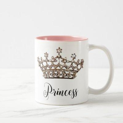 """""""Princess"""" Tiara Mug"""