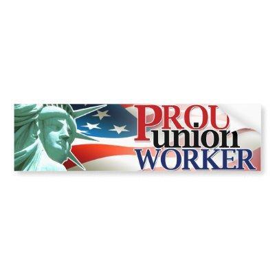 Pro Union Collection Bumper Sticker