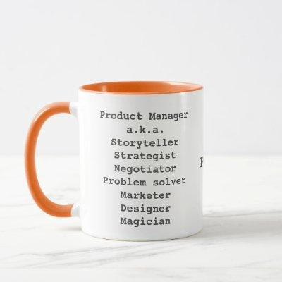 Product manager storyteller magician mug