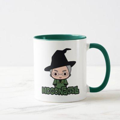 Professor McGonagall Cartoon Character Art Mug