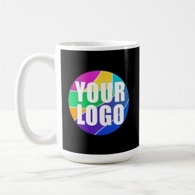 Promotional Business Logo Corporate Giveaway Black Coffee Mug