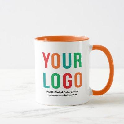 Promotional Items No Minimum, Color Logo Mugs