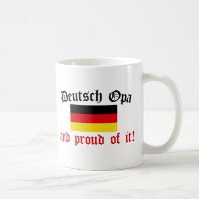 Proud Deutsch Opa Coffee Mug