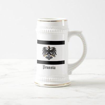Prussian_flag, erdman Family Crest, Prussia Beer Stein