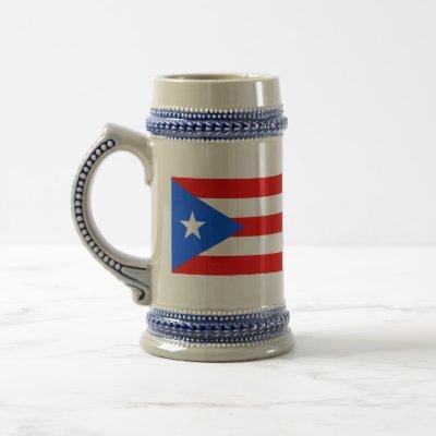 puerto rico beer stein