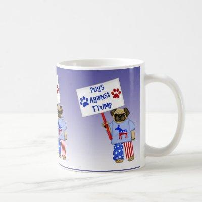 Pugs against Trump Coffee Mug